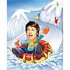 Sled Race Caricature from Photo