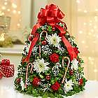 Holiday Flower Tree Centerpiece