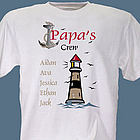 Personalized Lighthouse T-Shirt
