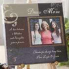 Dear Mom Personalized Photo Canvas