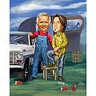 Rednecks Caricature Print from Photos
