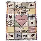 Personalized Touch Throw