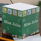 Teacher's Little Learners Personalized Note Cube