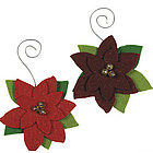 Poinsettia Ornaments Craft Kit