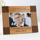 Inspiring Quote Personalized Engraved Frame