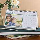 Through the Year Custom Photo Desk Calendar