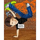 Break Dancing Caricature from Photos