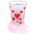 I Love You Party Shot Glass