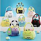 Personalized Plush Easter Basket