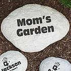 Engraved My Garden Accent Stone