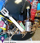 Mini Grill and Goodies Gift Basket