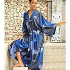 'Through the Seas' Women's Batik Robe