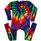 Extreme Rainbow Tie Dye Union Suit