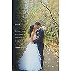 Wedding Sentiments Photo Canvas Print