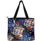 Lady Luck Slot Machine Tote Bag