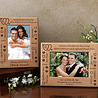 Personalized Soul Mate Definition Wooden Picture Frame