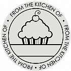 Cupcake Self-Inking Circle Stamp