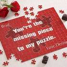 Valentine's Day Personalized Missing Piece Design Puzzle