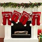 Personalized Knit Long John Christmas Stocking