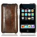 iPod Touch 2nd & 3rd Generation Dark Beechwood & Plastic Case