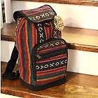 Woven Backpack of Traditional Nepal Gheri Fabric