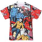 Classic Star Trek Comic Sublimated T-Shirt