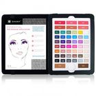 EyeBook Makeup Palette in Smoky with 51 Colors