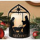 Nativity Candleholder