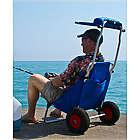 Folding Beach Chair with Sun Visor Canopy