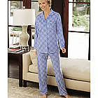 Women's Animal Print Microfleece Pajamas