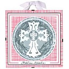 Baptism / Christening Plaque in Pink