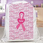 Personalized Breast Cancer Awareness Walk Sports Bag