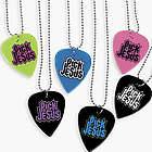 Pick Jesus Guitar Pick Necklaces