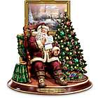 The Joy Of Christmas Santa Claus Animated Musical Figurine
