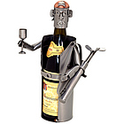 Male Golfer Wine Bottle Holder