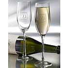 Traditional Personalized Toasting Flutes
