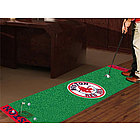 Boston Red Sox Golf Putting Green Runner