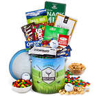 Golf Supplies and Snacks Gift Basket