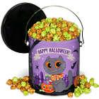 Halloween Caramel Apple Popcorn Tin