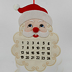 Santa Personalized Advent Calender