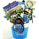 Best Dad Ever Book and Snacks Gift Basket