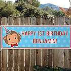 Personalized Oversized 6 Foot Long Birthday Banner