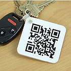 Personalized Barcode Scanner Keychain