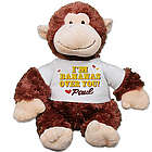 Personalized I'm Bananas Over You Chimp