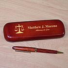 Lawyer Rosewood Pen Set