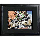 Personalized Milwaukee Brewers Pub Sign Framed Print