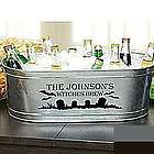 Personalized Halloween Beverage Tub