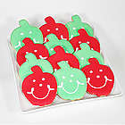 Teacher's Apple Smiley Cookies