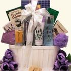 Lavender Spa Pleasures Administrative Professionals Day Basket