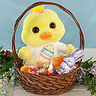 Personalized Flapper Chick Easter Gift Basket